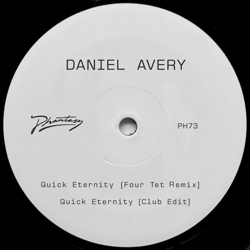 Daniel Avery - Quick Eternity (Four Tet Remix) [PH73]