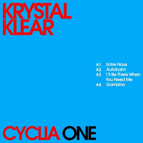 Krystal Klear - Cyclia One [RB0861D]