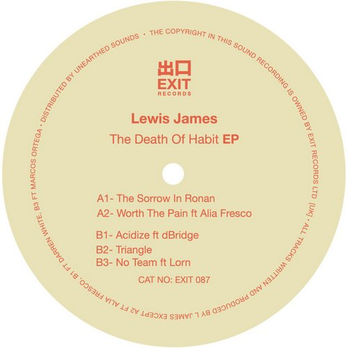 Lewis James - The Death Of Habit [EXIT087]