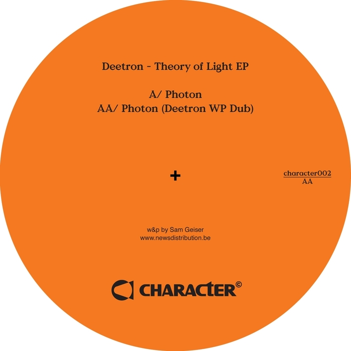 Deetron - Theory Of Light [CHARACTER002]